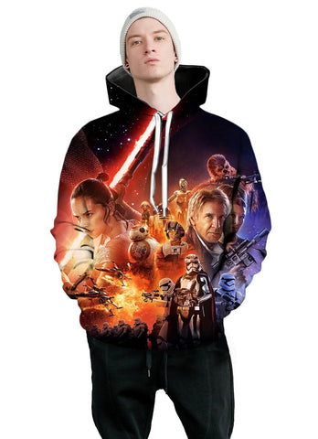 The Force Awakens | Star Wars 3D Printed Hoodie - RespawnWear