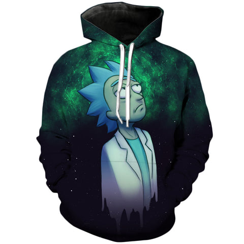 Infinite IQ | Rick and Morty 3D Printed Unisex Hoodies - RespawnWear