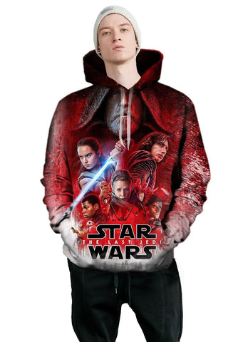 The Last Jedi | Star Wars 3D Printed Hoodie - RespawnWear