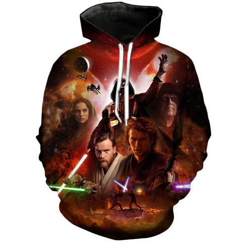 Revenge of the Sith | Star Wars 3D Printed Hoodie - RespawnWear