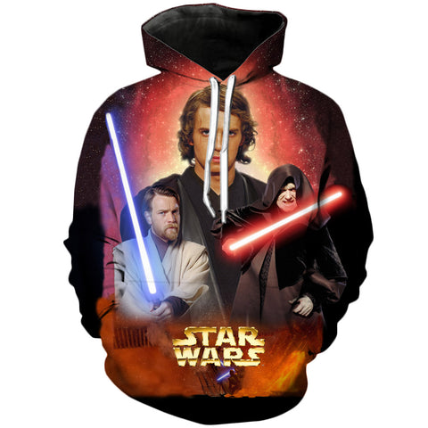Revenge of the Sith | Star Wars Printed 3D Hoodie - RespawnWear