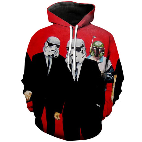 Troppers and Bobafett | Star Wars 3D Printed Hoodie - RespawnWear
