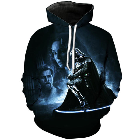 Darth Beckons | Star Wars 3D Printed Hoodie - RespawnWear