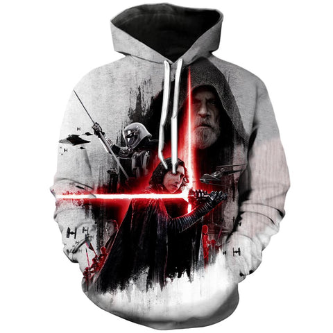 The Dark side  | Star Wars 3D Printed Hoodie - RespawnWear