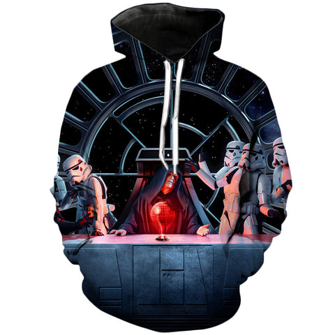 Darth Sidious | Star Wars 3D Printed Hoodie - RespawnWear