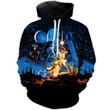 Old School Starwars | Star Wars 3D Printed Hoodie - RespawnWear