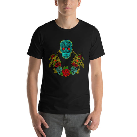 Psychedelic Plague Doctor Tshirt