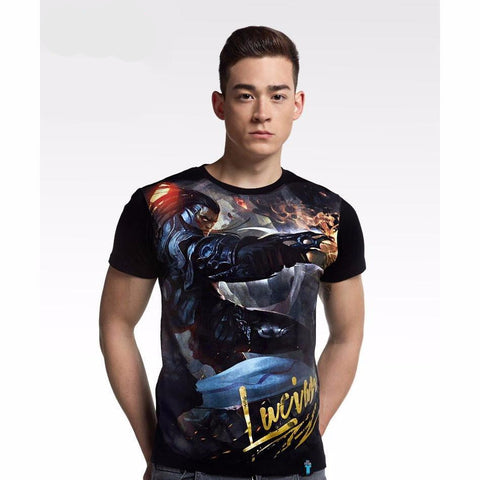 Lucian League of Legends Tshirt - RespawnWear