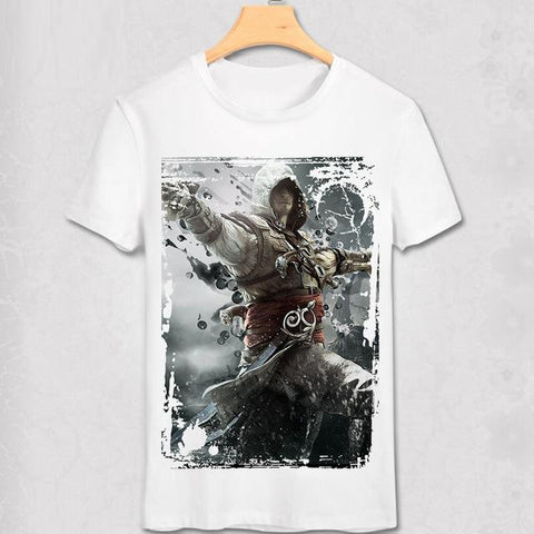 Assassins Creed Tshirt Ezio Black Flag - RespawnWear