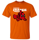 Deadpool Finding Francis and Nemo Crossover Tshirt - RespawnWear