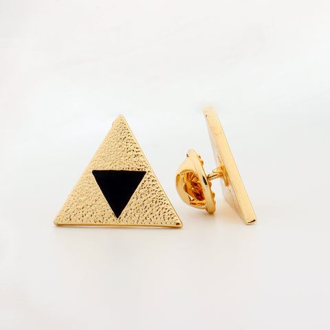 Legend of Zelda Triforce Enamel Pin - RespawnWear