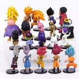 Dragon Ball Z 20pcs/set Son Goku Vetega Majin Buu Freeza Beerus Whis Mark Karin Gotenks - RespawnWear