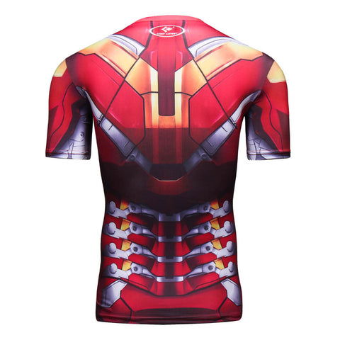 Iron Man Compression Tshirt - RespawnWear