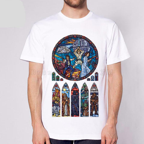 Stained Glass Church of Starwars - RespawnWear