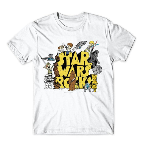 Star Wars Rocks T-Shirt - RespawnWear