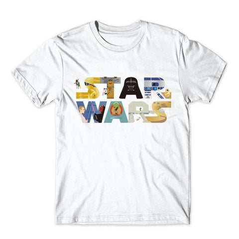 Collage Star War T-Shirt - RespawnWear