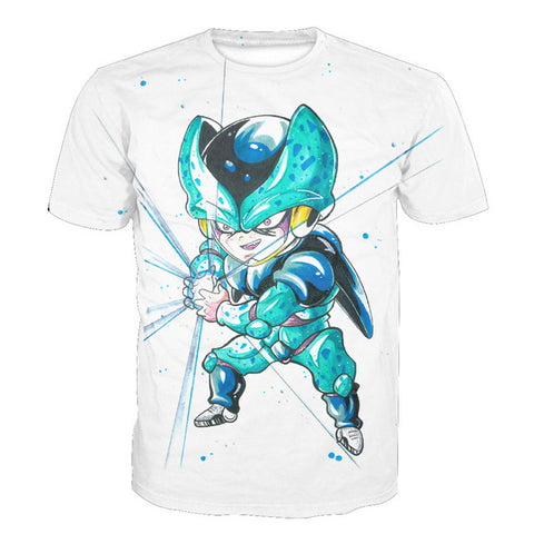 Cell Jr. Dragon Ball Unisex Tshirt 3D Printed - RespawnWear