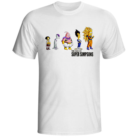 Super Simpsons X Dragonball T-Shirt - RespawnWear
