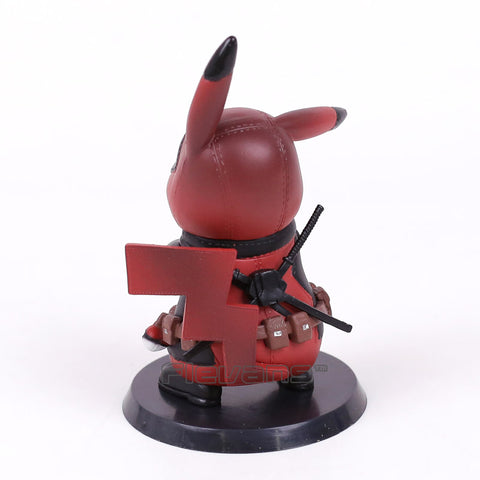 f76175b40 Deadpool/Captain America Pikachu Mini Collectible Action Figure 11cm -  RespawnWear