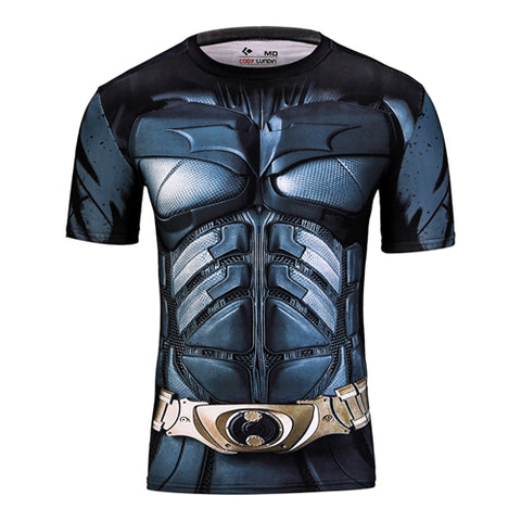 DC Batman Compression Tshirt - RespawnWear