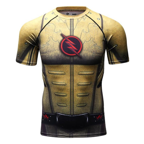 Reverse Flash Compression Tshirt - RespawnWear