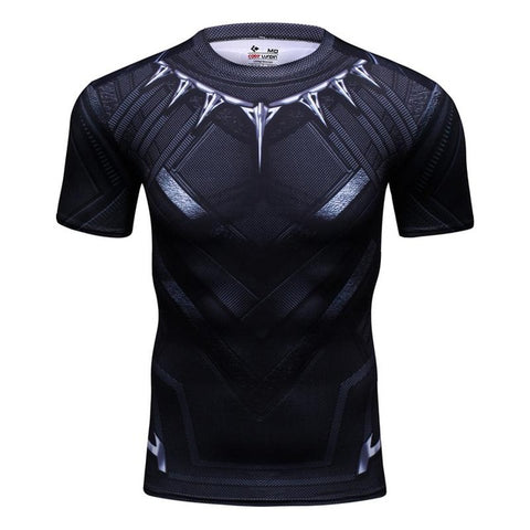 Black Panther Compression Tshirt - RespawnWear