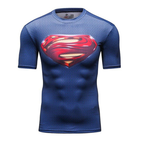 DC Superman Compression Tshirt - RespawnWear