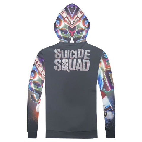 Harley Quin Insanity Hoodie 3D Suicide Squad Print Hoodie - RespawnWear