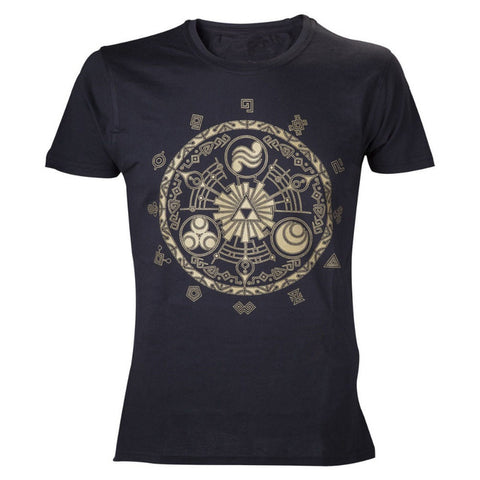 The Legend Of Zelda Currents, Echoes, Age Symbols T-Shirt - RespawnWear