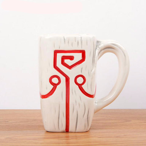 New DOTA 2 Accessory Mask Coffee Juggernaut  Ceramic Mug - RespawnWear