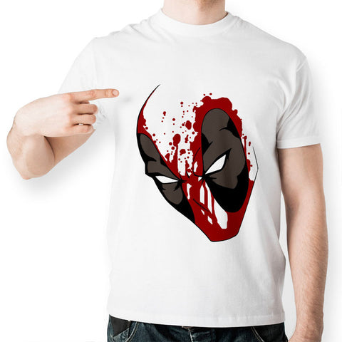 Deadpool Bloodied T-Shirt - RespawnWear