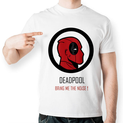 Deadpool Bring me the noise T-Shirt - RespawnWear