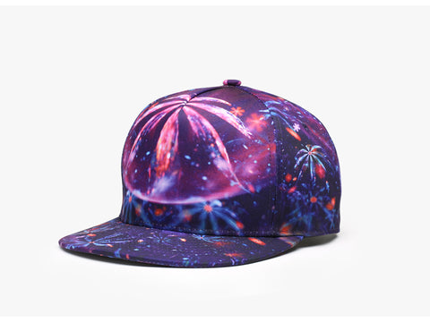 Trippy Psychedelic Avatar Unisex Snapback Hats: 3D Printed Hip-Hop Baseball Cap - RespawnWear