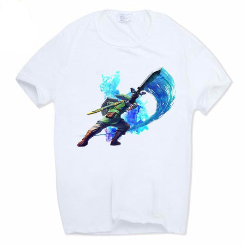 The Legend of Zelda Link T-shirt Breath of the wild - RespawnWear