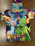 Rick and Morty Universe Annihilation 3D printed Hoodie - RespawnWear