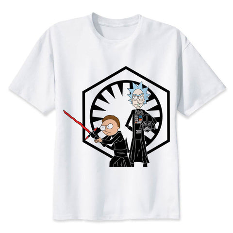 Vader Rick and Kylo Morty | Rick and Morty X Starwars T-shirt - RespawnWear