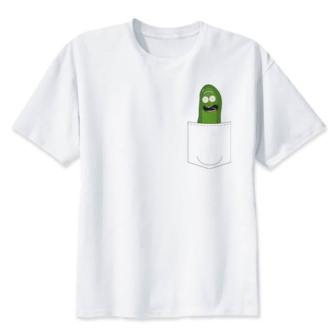 Pickle Rick on a tit | Rick and Morty T-shirt - RespawnWear
