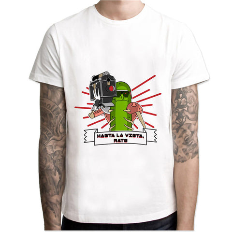 Pickle Rick Lazer Terminator | Rick and Morty T-shirt - RespawnWear