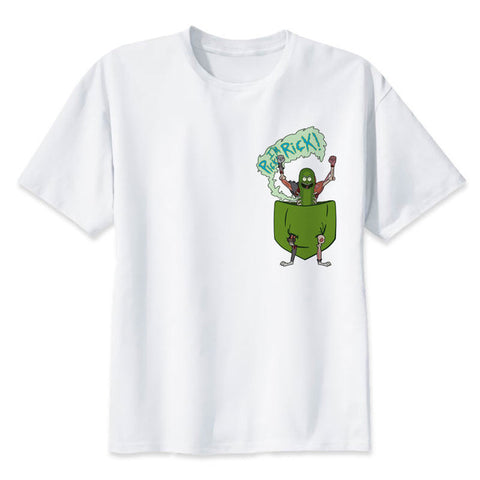 Pocket Rick | Rick and Morty Tshirt - RespawnWear