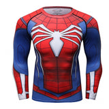 Black Venom Spiderman Fitness Compression Shirt - RespawnWear