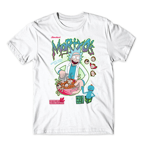 Mortyos breakfast cereal | Rick And Morty TShirt - RespawnWear