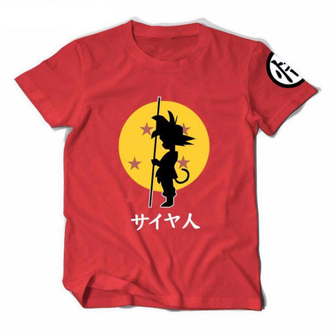 Kid Goku Dragon Ball T-Shirt - RespawnWear
