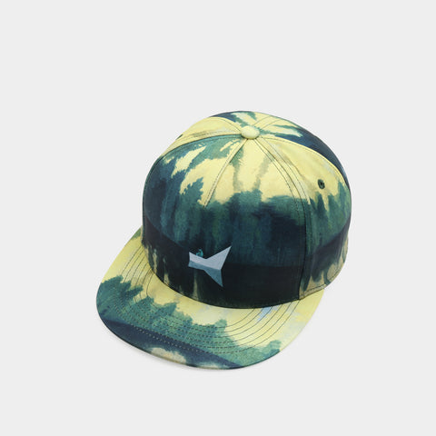 Trippy Psychedelic Space Boat Unisex Snapback Hats: 3D Printed Hip-Hop Baseball Cap - RespawnWear