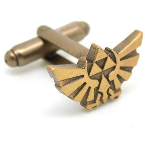 The Legend of Zelda Triforce Hyrule Cufflinks - RespawnWear