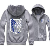 Shingeki No Kyojin Attack On Titan Unisex Hoodies - RespawnWear
