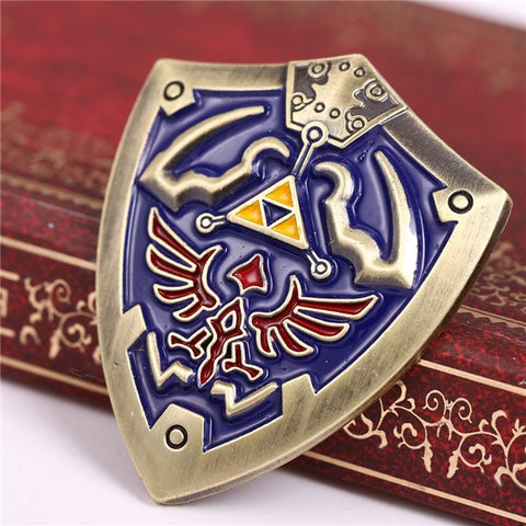 The Legend of Zelda Hylian Shield Pin - RespawnWear