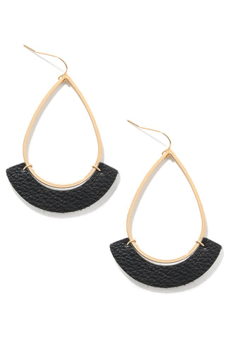 Casey earrings black
