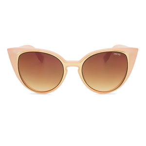 Iris cat eye sunglasses pink