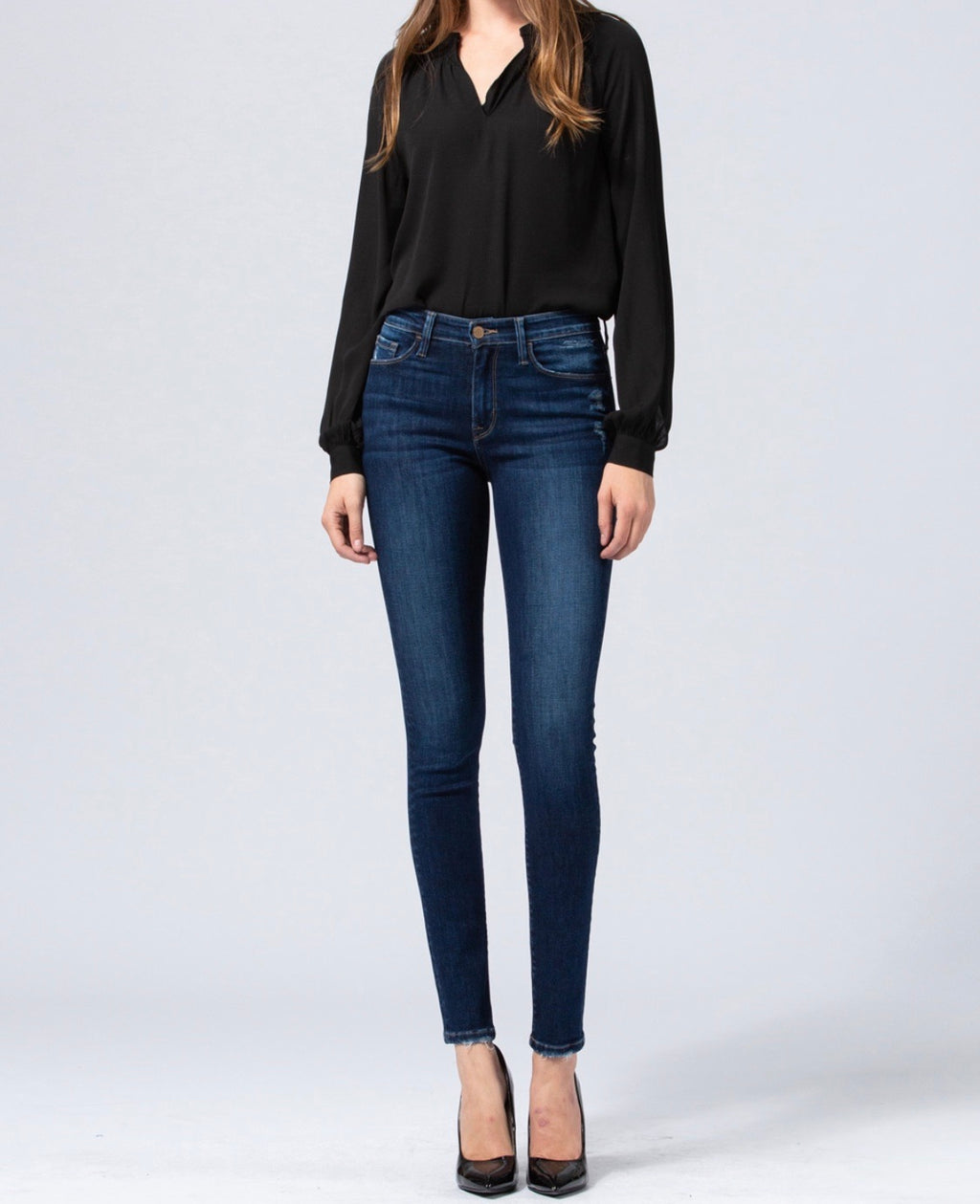 Maggie mid rise skinny jeans