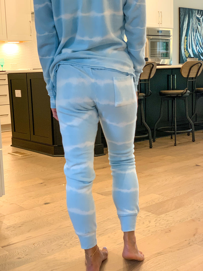 Blue skies ahead joggers